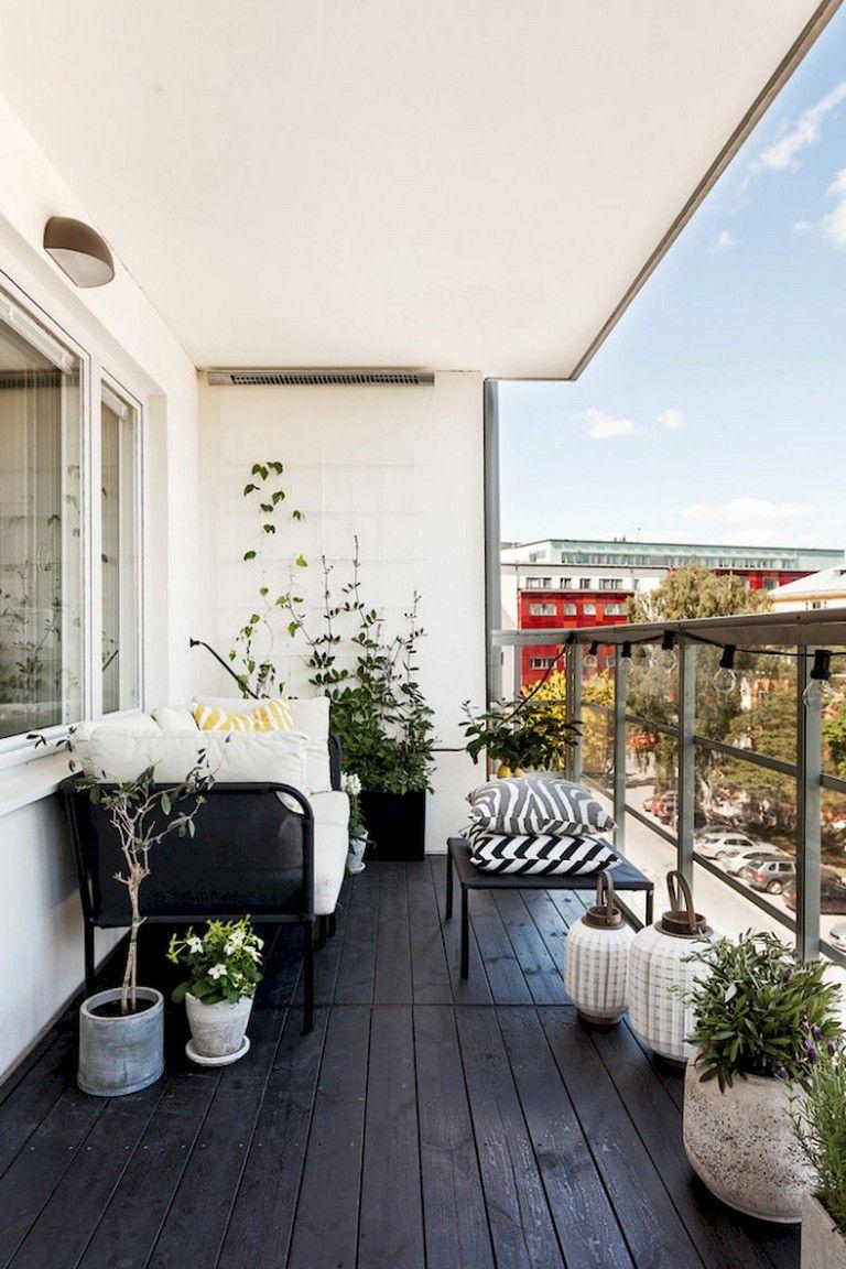 68 inspiring smart balcony designs ideas with scandinavian design rh pinterest com