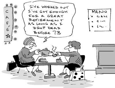 Cartoons About Retirement  Business Cartoons Retirement Plan