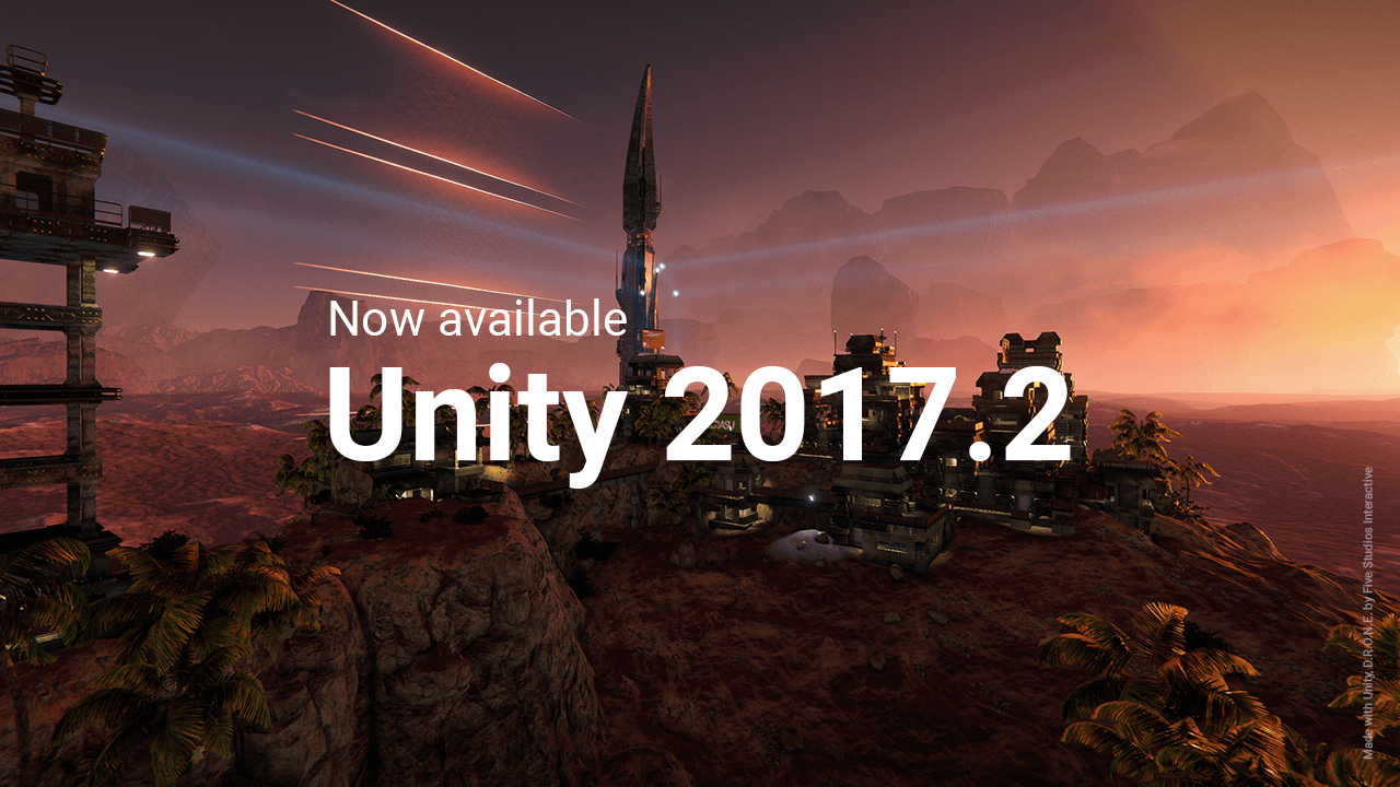 Unity 2017.2 is now out featuring a brand new low-level Nintendo Switch renderer that should significantly improve performance in Unity games! http://bit.ly/2lnzap3 #nintendo