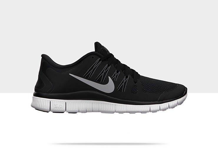innovative design 7fbee b3176 Nike Free 5.0+ Zapatillas de running - mujer Negro   Plata Metalizado    Blanco  1vJJMK  1