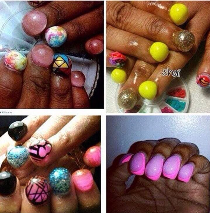 Hump nails / bubble nails | Go Home, you are drunk | Pinterest ...