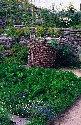 Walled Vegetable Garden Lacko Castle Sweden