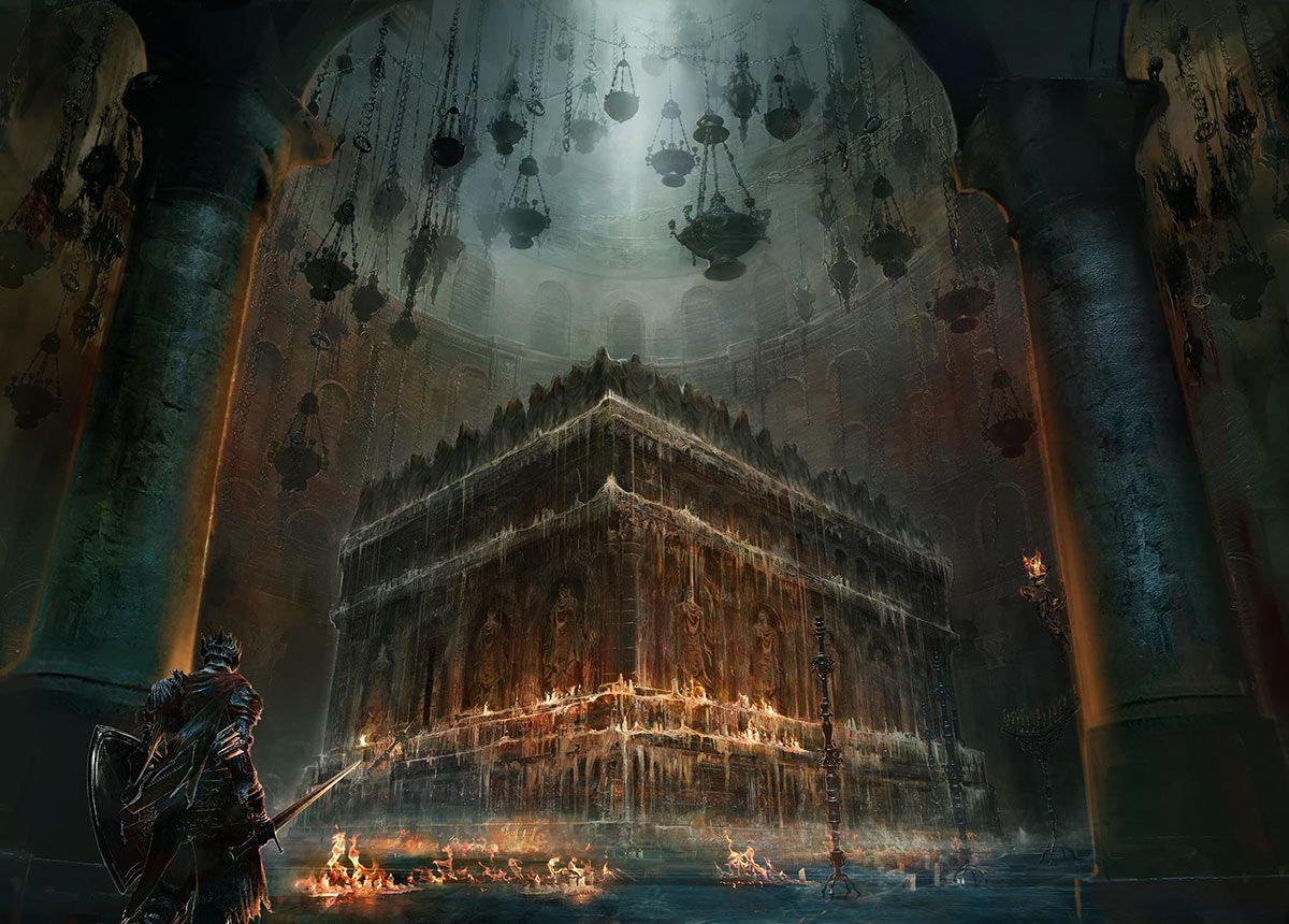 Dark Souls III - Church Boss Area