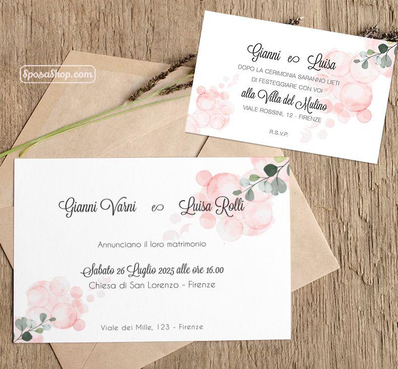 Partecipazioni Di Nozze E Inviti Di Matrimonio Online Stampa In 24 Ore Nel 2020 Partecipazioni Nozze Nozze Matrimonio Floreale