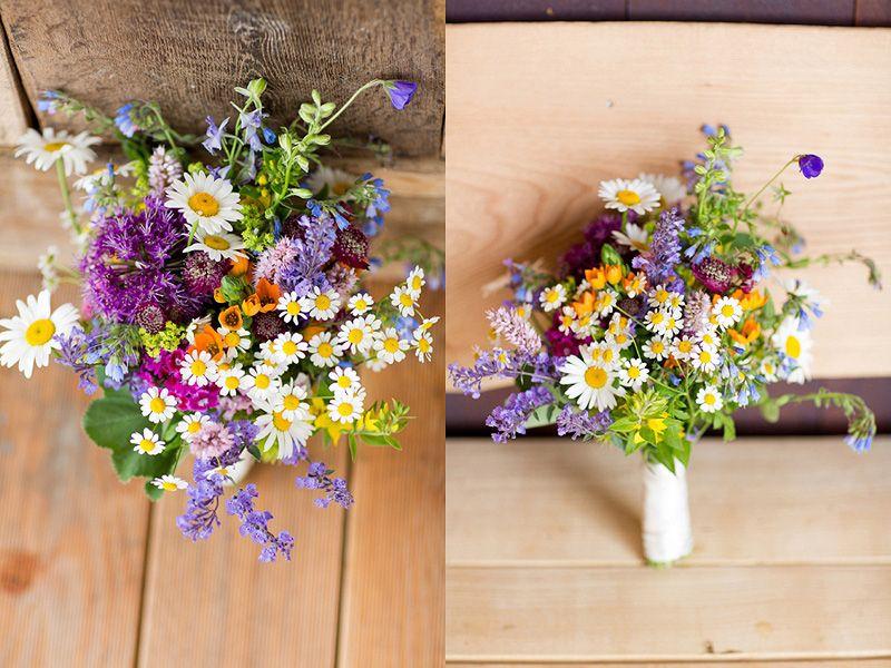 Brautstrauss Aus Wildblumen W E D D I N G Pinterest Wedding