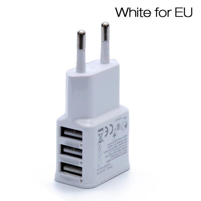 aokin 5v 2a eu plug 3 ports usb wall charger universal on usb wall charger id=79864