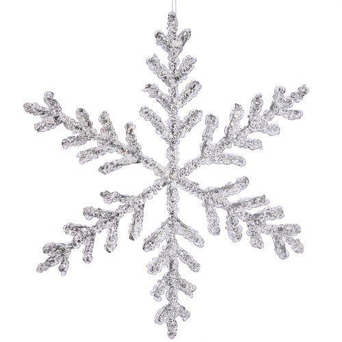 45+ Large plastic glitter snowflakes inspirations
