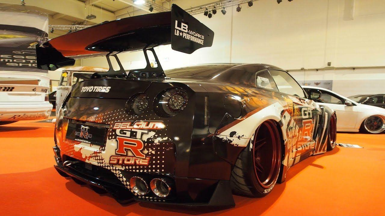 Nissan GTR R35 2010 Tuning 3.8L V6 700 ps, AirRex Extra