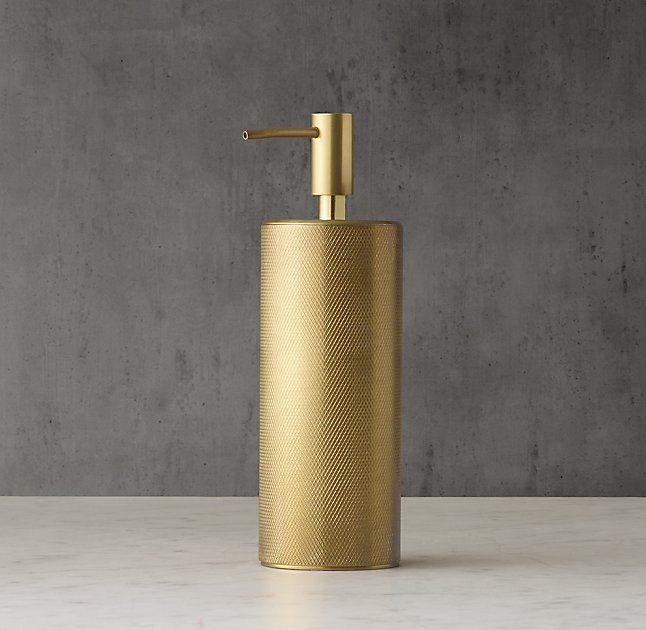 Laval Soap Dispenser Aged Brass Brass Kitchen Accessories