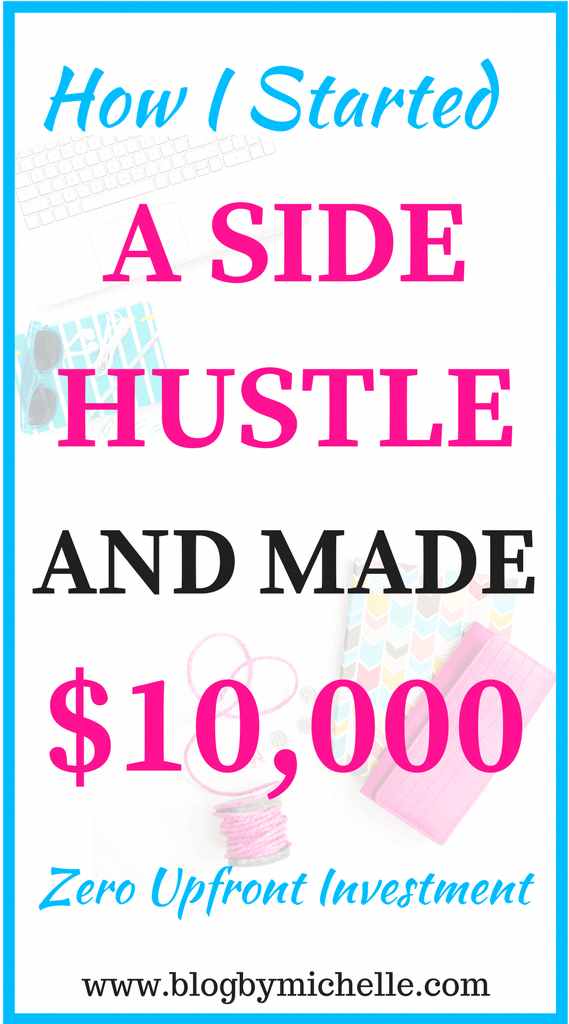 How I Started A Side Hustle On Fiverr And Made 5 Figures Work From Home Start A Blog Make Money Side Hustle Ideas Sidehustleideas Workfromhome