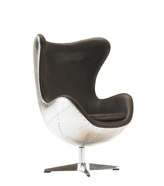 fauteuil design apollo rocking chair aviator pivotant a. Black Bedroom Furniture Sets. Home Design Ideas