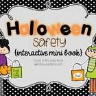 Have your students practice Halloween safety using this fun mini book! It includes fun little rhymes, coloring and math skills.Free Digital download. Teachers pay teachers  Print the pages ba...