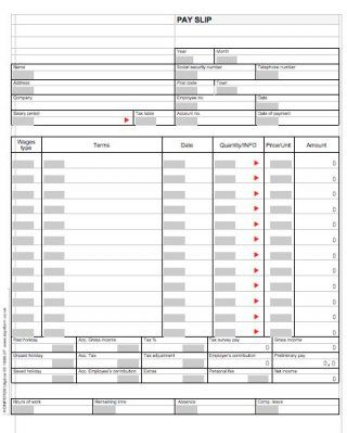 Check Stubs Template Free Custom Download Paycheck Stub Template 01  Rent  Pinterest