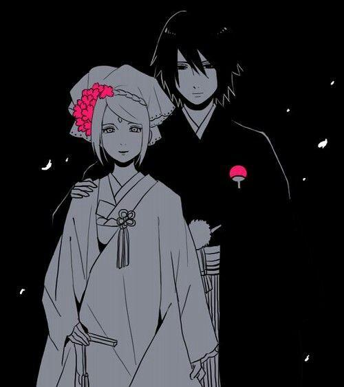 Sakura e Sasuke - Tão lindos :3 - The Last - Fan Art