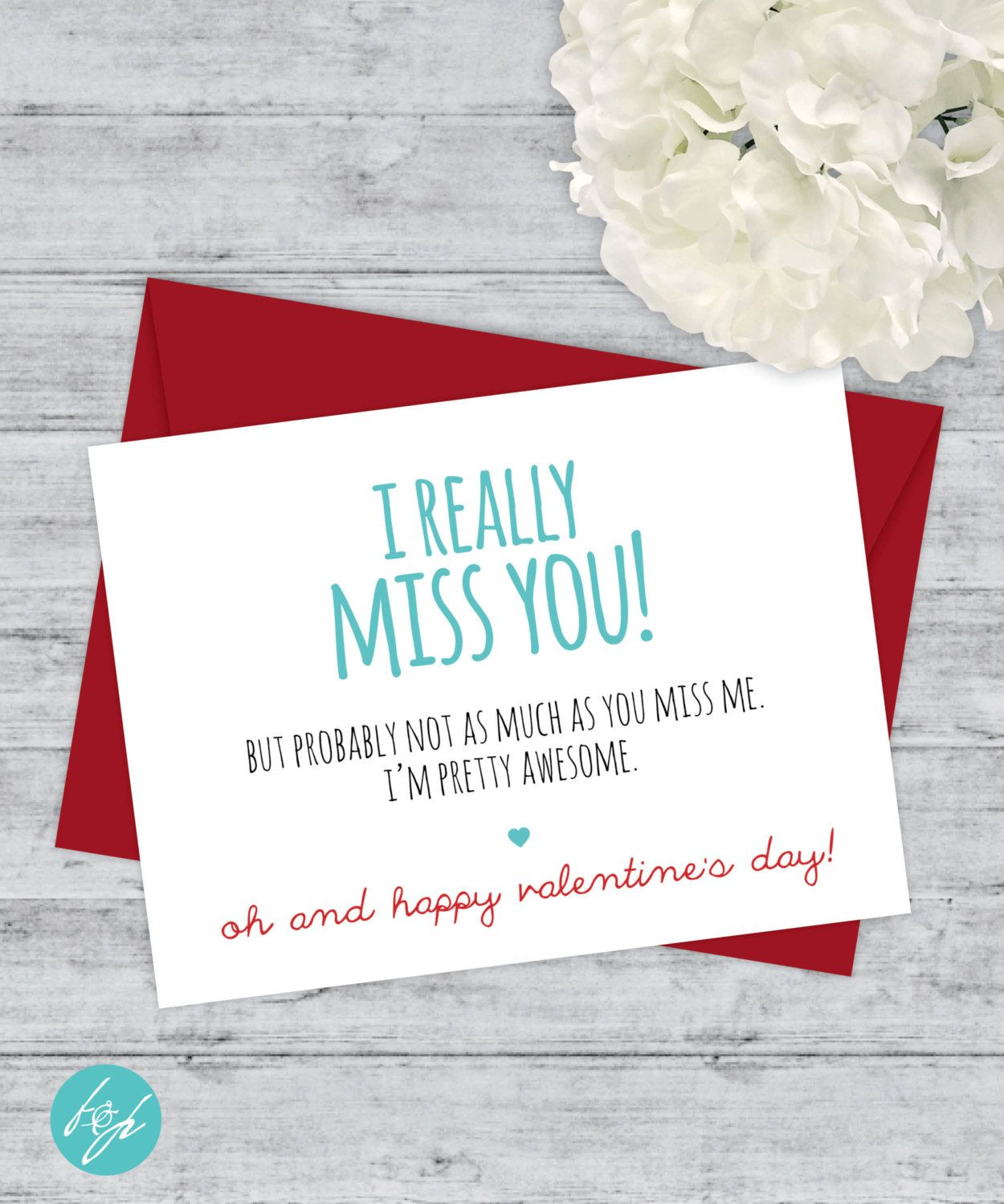 Funny valentines day card miss you card i really miss you but funny valentines day card miss you card i really miss you but probably not kristyandbryce Image collections