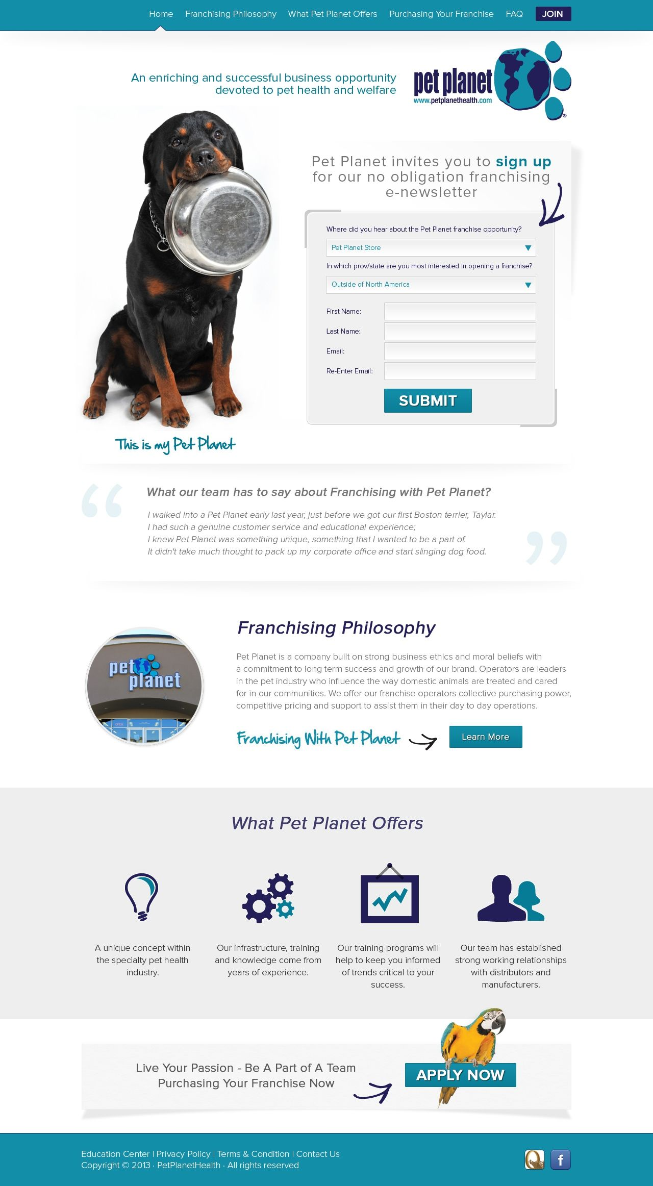 Create A High Converting Franchise Landing Page