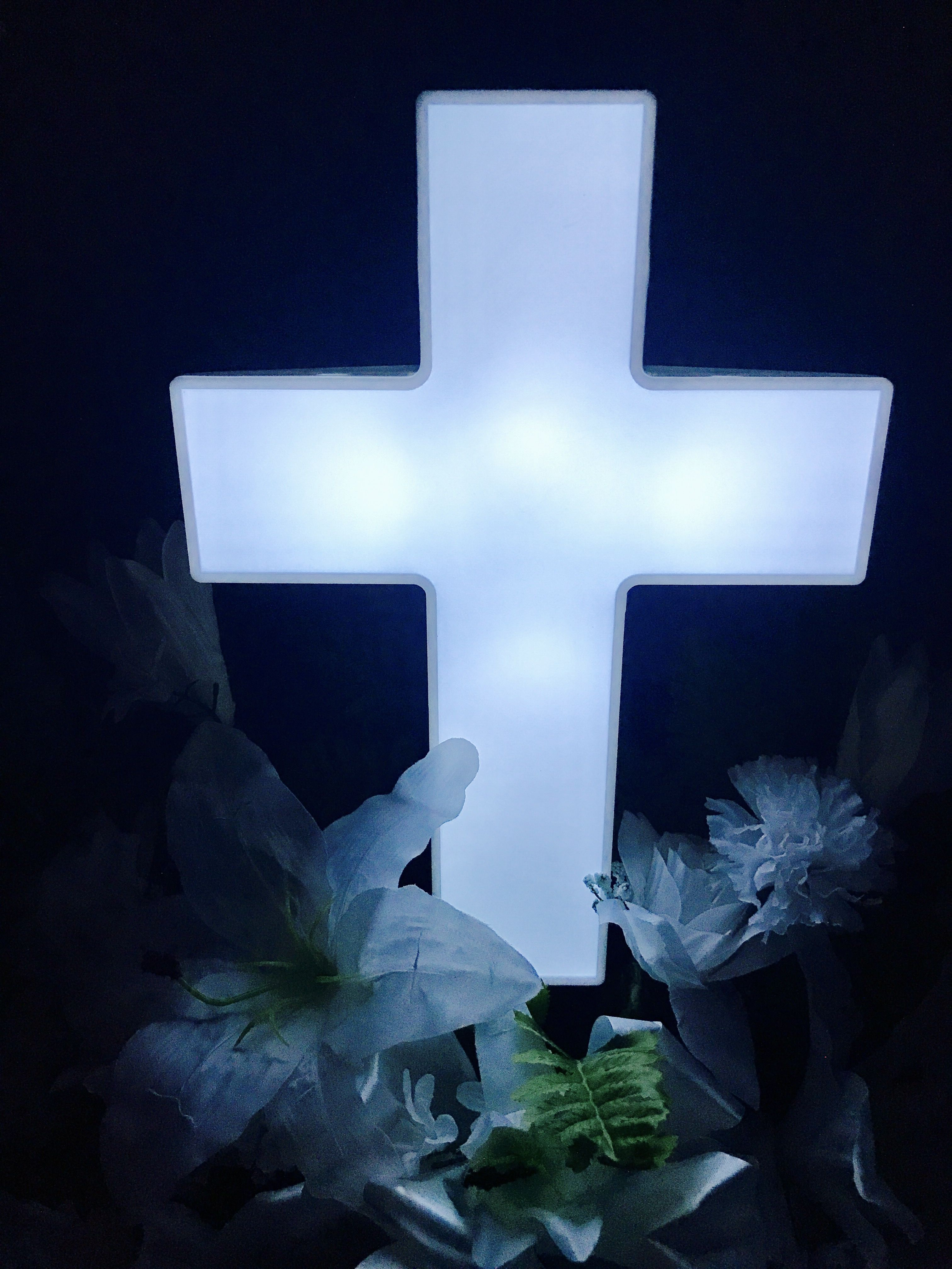 Pin on Solar Lighted Crosses