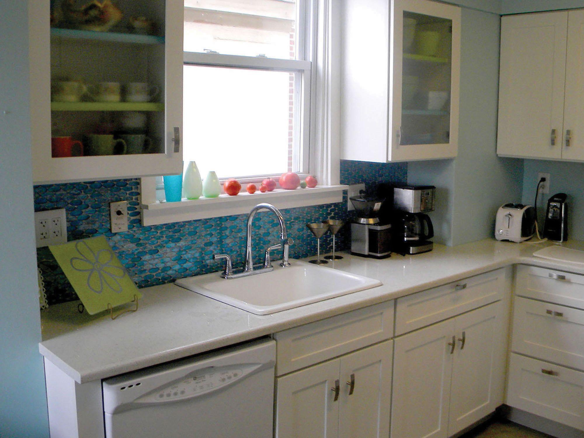 Springfield Missouri Bath Renovation Features CliqStudios Dayton Painted  White Cabinets