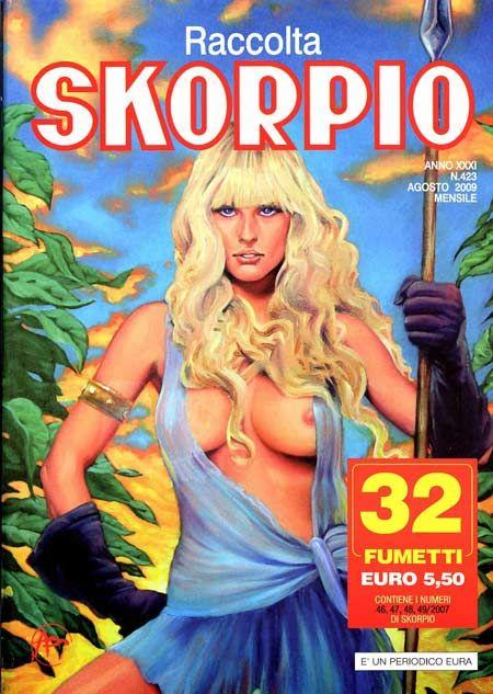 Fumetti EDITORIALE AUREA, Collana SKORPIO RACCOLTA n°423 Agosto 2009