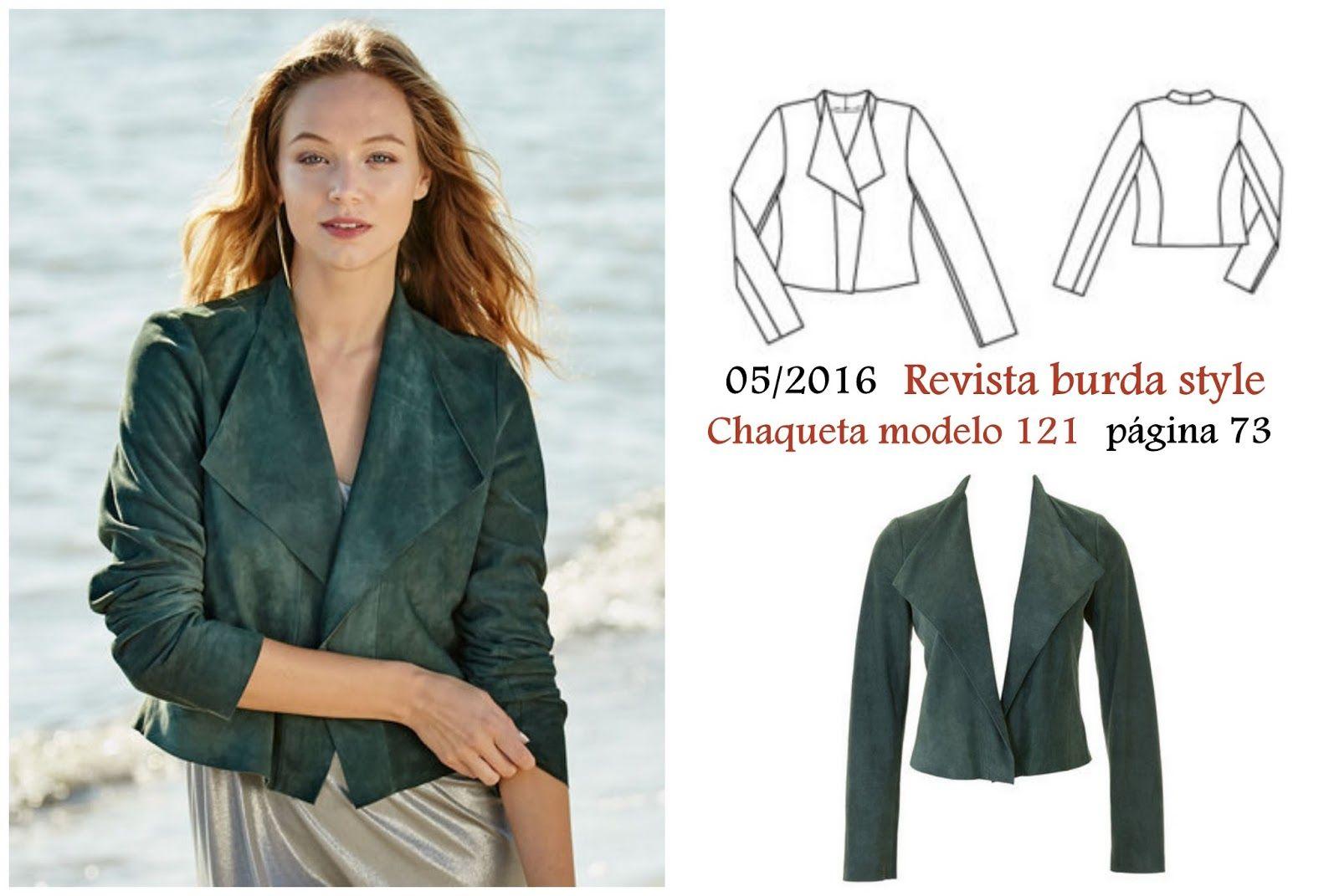 burda magazine style jacket | Szabás minta | Pinterest | Costura ...