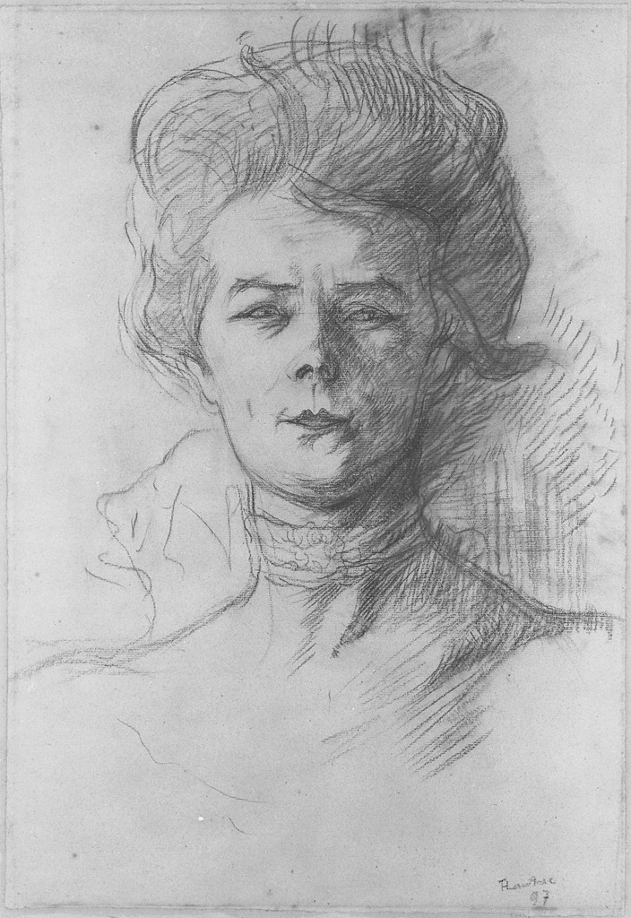 Henri De Toulouse Lautrec 1864 1901 Portrait Of Jeanne Granier 1897 Harvard Art Museums Henri De Toulouse Lautrec Art Portrait