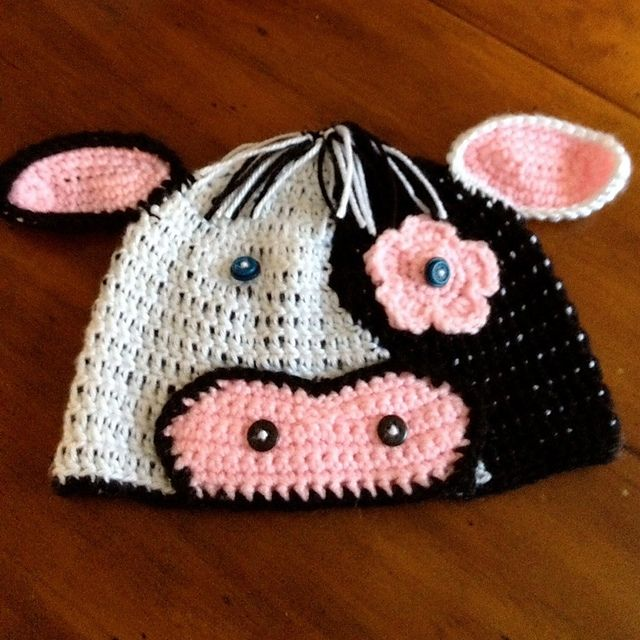 Cow Hat pattern by MistyFrostHR | Pinterest