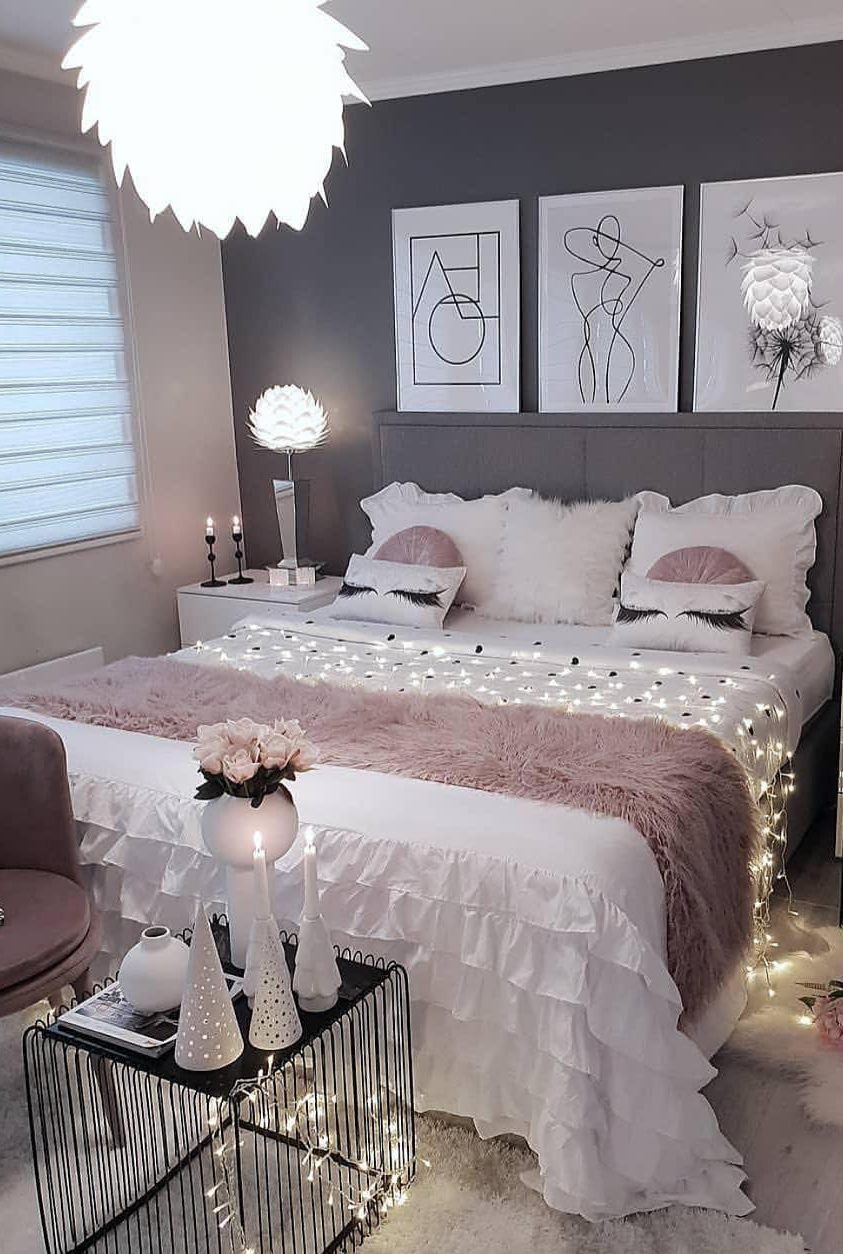58 Popular And Modern Small Bedroom Design Ideas Page 42 Of 58 Evelyn S World My Dreams My Colors And My Life Bedroom Decor Bedroom Design Stylish Bedroom
