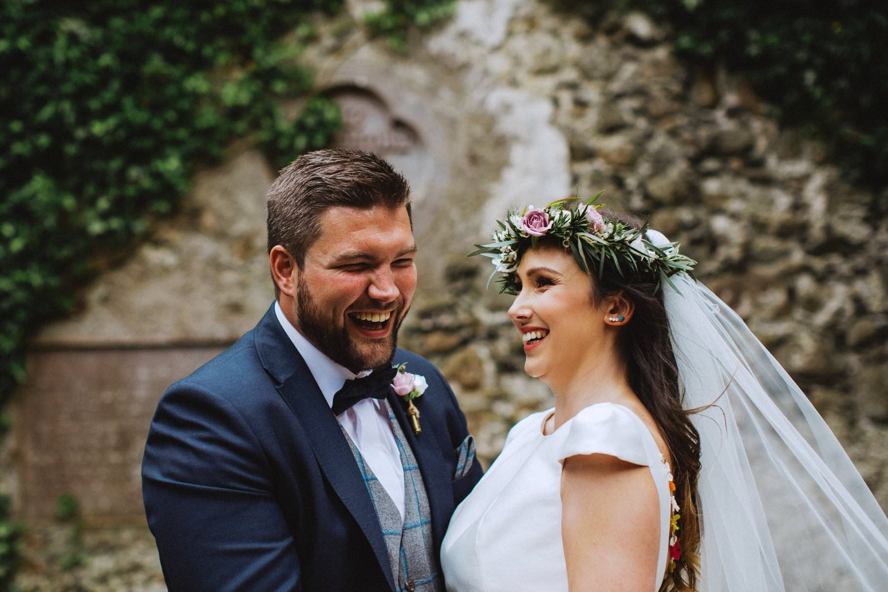 fun-filled wedding at the ivory pavilon of galgorm castle