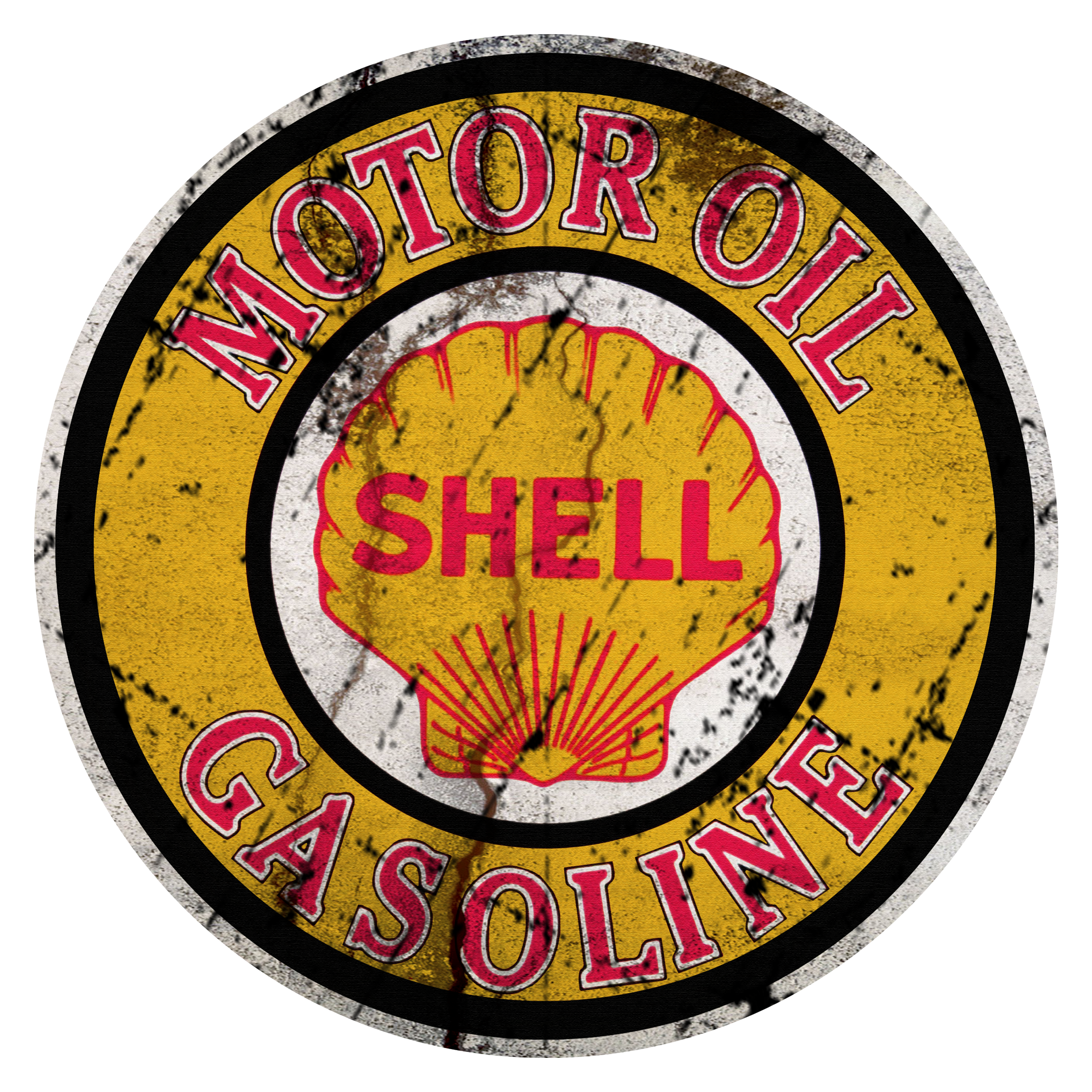 vintage shell motor oil sign vintage oil amp gas signs