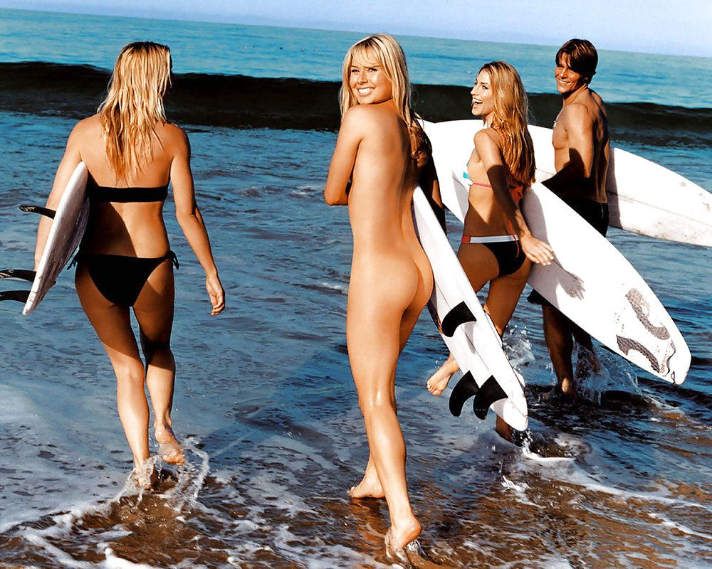 Nude surfer girls something also