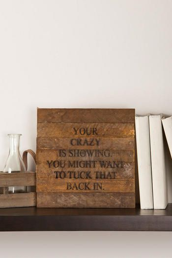 Oh my! Soooo making one for my back door exit! quotes Pinterest