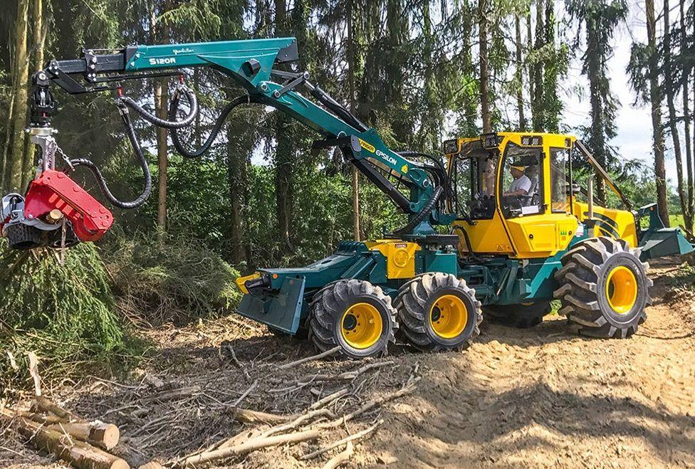 Hsm 805 6wd Traktoren Forstwirtschaft