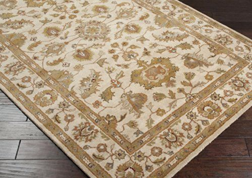 Surya Crowne 12 X 15 Hand Tufted Wool Rug In Neutral To View Further For This Item Visit The Image Link Wool Area Rugs Classic Rugs Hand Tufted Rugs