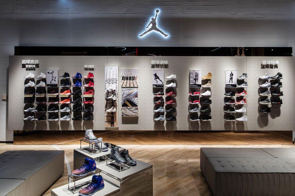 Nike And Jordan Basketball Experience Store Beijing Retail Store