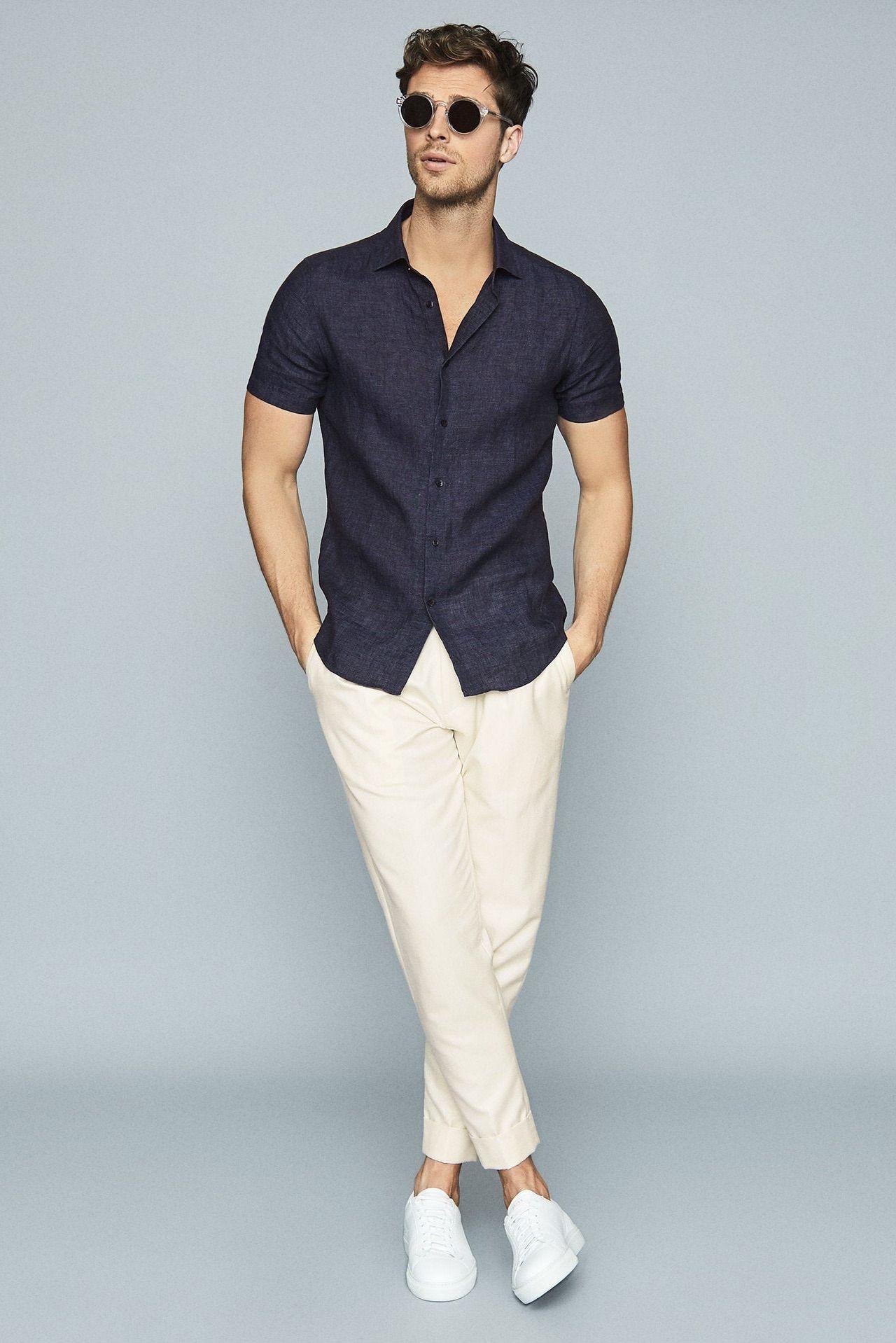 Holiday Linen Shirt -   14 mens holiday Style ideas