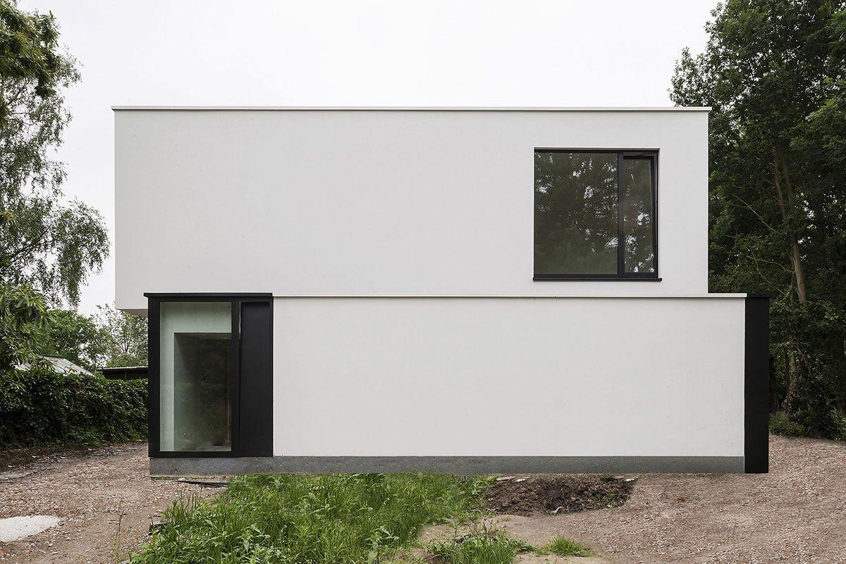 HVV Residence in Bazel, Belgium by CLAESSENS ARCHITECTEN