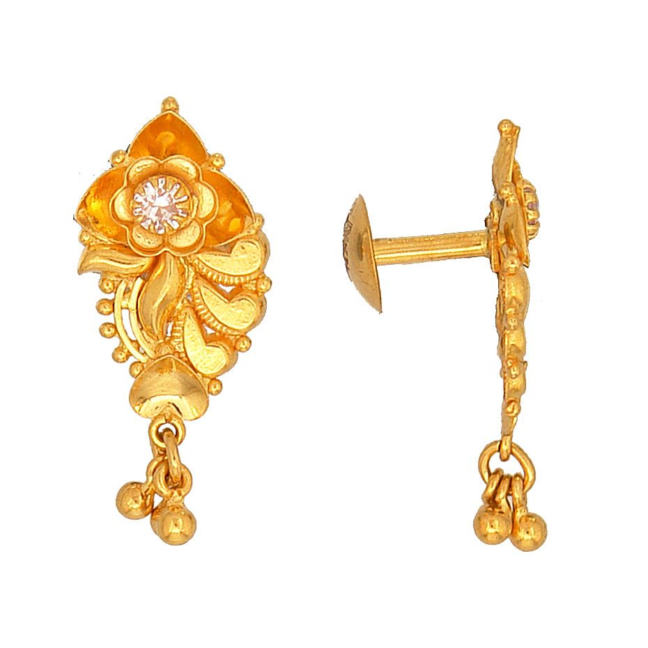 Prince Jewellery Golden Earring - Product Code : 8-13A16445 ...