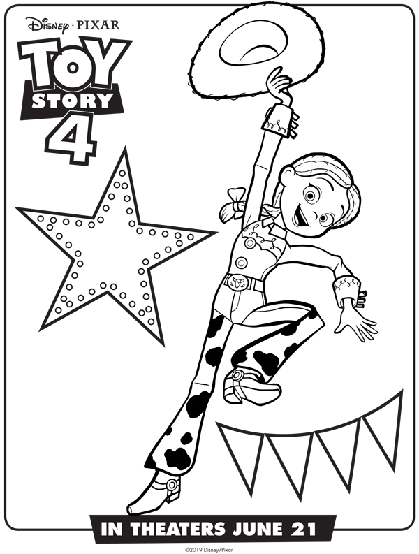 NEW Toy Story 4 Free Coloring Sheets | April Golightly | Toy ...