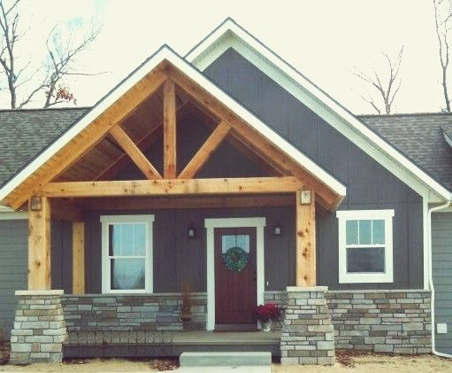 Most Populer Colors For Board and Batten Siding #boardandbattensiding