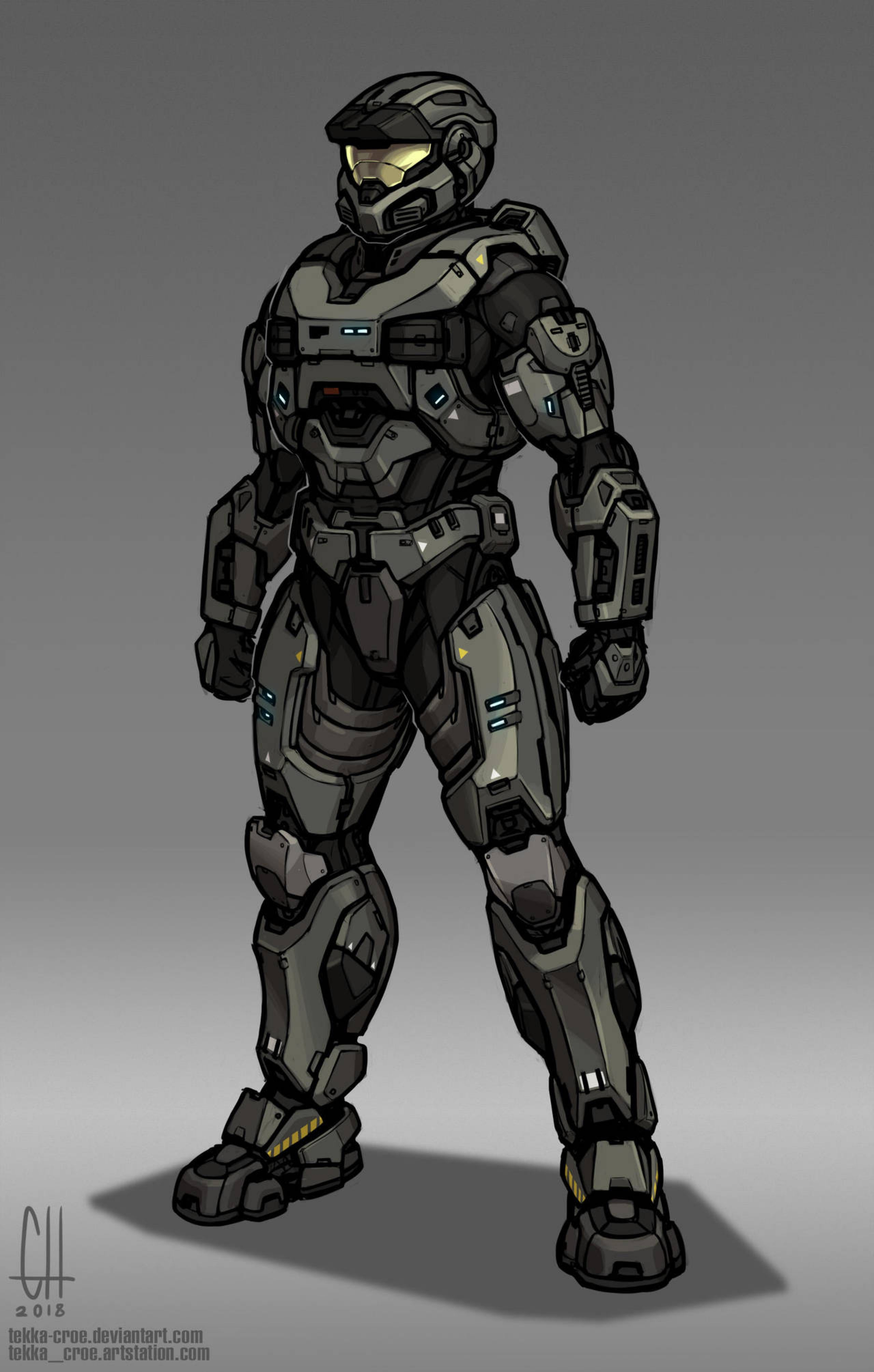 MJOLNIR Mark V[B] by Tekka-Croe on @DeviantArt | Halo in