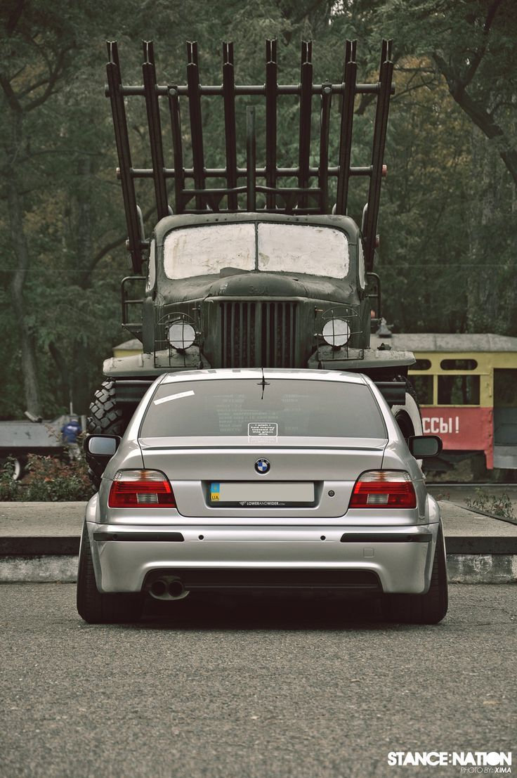 BMW E39 Stanced & Wide! | luxury cars | Pinterest | Bmw e39, BMW and ...