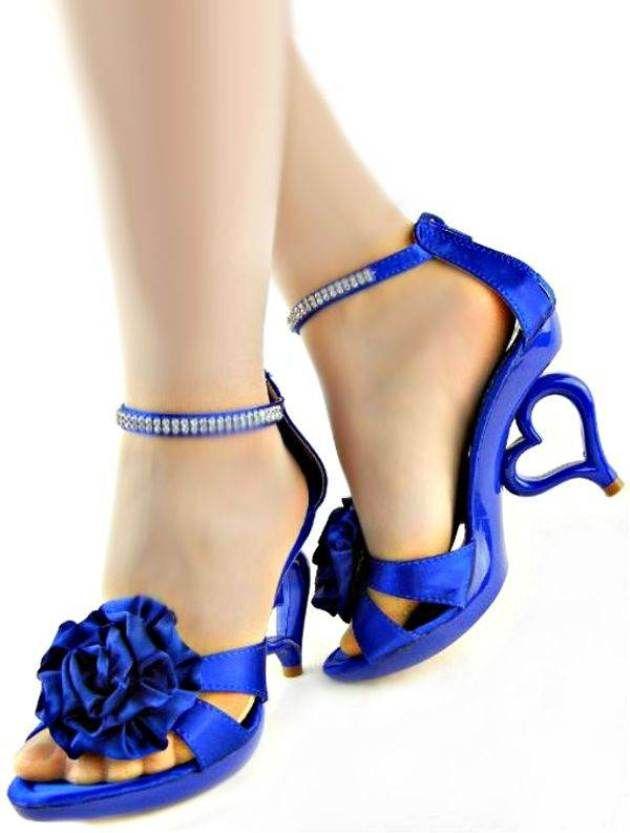 royal blue wedding shoes low heel footwear