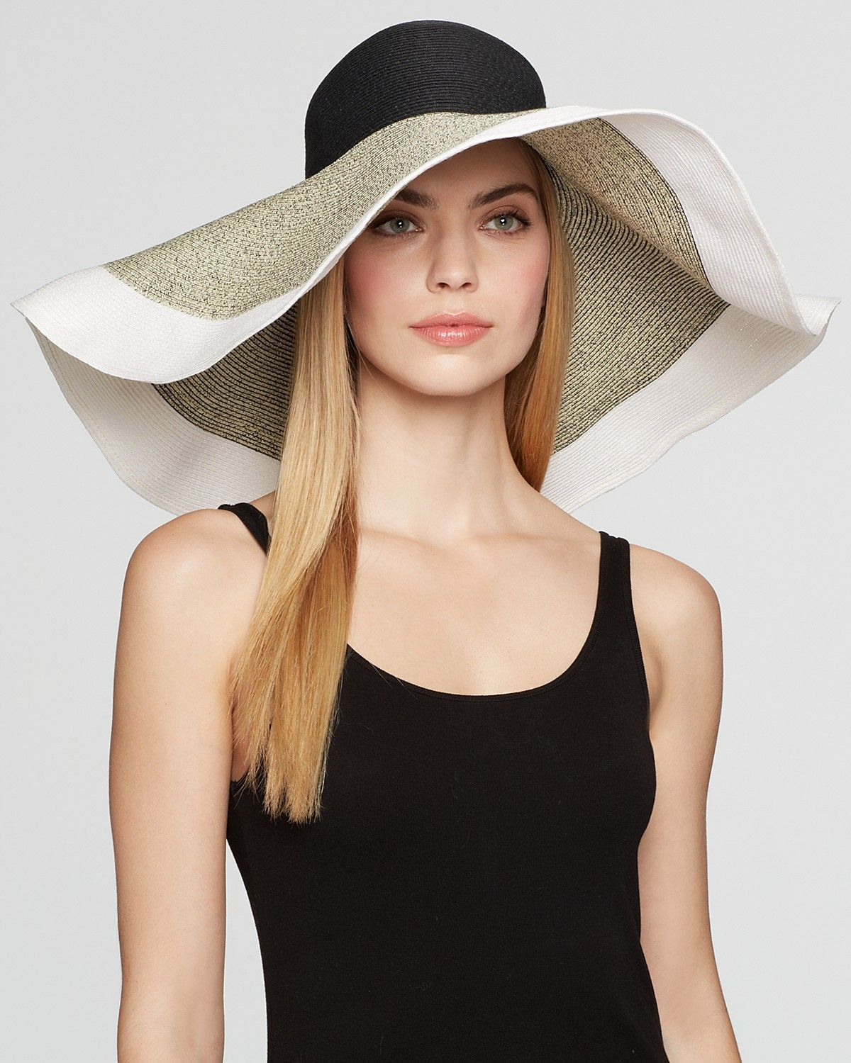 896c41da351 AQUA Extra Large Floppy Wired Brim Sun Hat - Bloomingdale's ...