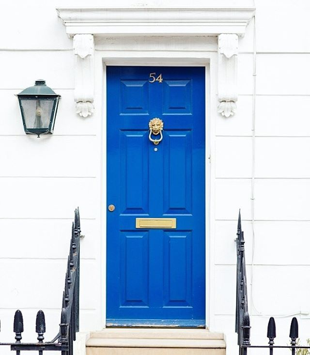 10 Best Practices for Blue Front Door Ideas | Notting hill london ...
