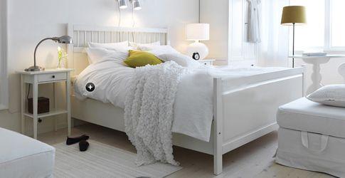 Idee voor de slaapkamer interieuridee n pinterest de stijl bedden en ikea - Lichtgrijze kamer ...