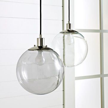 Shoppers diary west elm globe pendant google images pendant new at west elm the globe pendant in gray or clear glass reminiscent mozeypictures Gallery