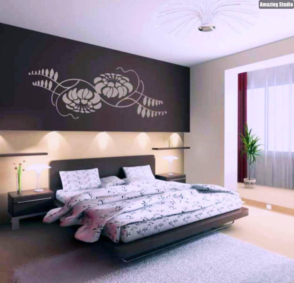 wände gestalten im schlafzimmer | wände, schlafzimmer und