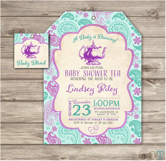 A baby is brewing baby shower tea party invitations by cardmint a baby is brewing baby shower tea party invitations by cardmint filmwisefo