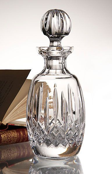 Waterford Crystal Decanter Lismore Made In Ireland Drink