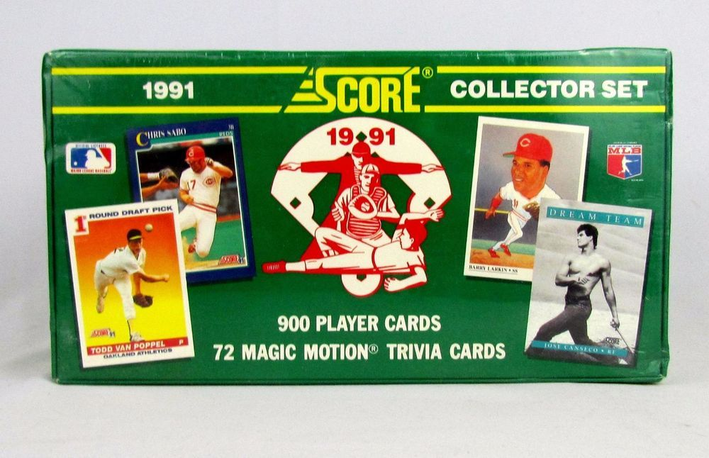 1991 Score Baseball Card Complete Set Collection Factory